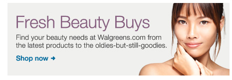 Fresh Beauty Buys. Find your beauty needs at Walgreens. com from the latest products to the oldies-but-still-goodies. Shop now.