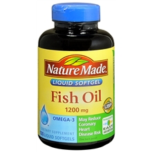 Fish Oil 1200 mg, Softgels
