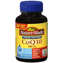 CoQ10 100mg Softgels +12 FREE!