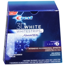 3D White Intensive Professional Effects Whitestrips Dental Whitening Kit