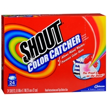 Color Catcher In-Wash Sheets