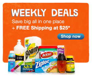 Weekly Deals. Save big all in one place + Free Shipping at $25.* Shop now.