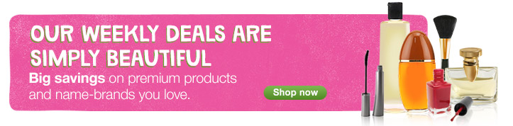 Big savings on premium products and name-brands you love. Shop now.