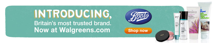 Introducing UK's Most Trusted Brand.. Boots at Waglreens. 