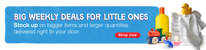 Bigger items and larger quantities delivered right to your door. Shop now.
