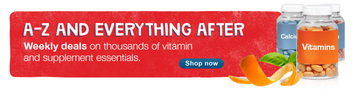 A-Z and Everything After. Weekly deals on vitamins & supplements. Shop now.