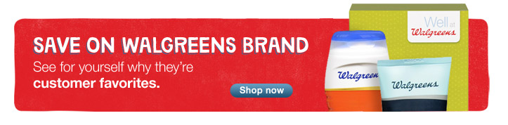 Save on Walgreens Brand. See why they're customer favorites. Shop now.