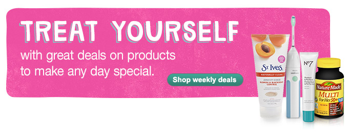 Treat yourself w/deals on products to make any day special. Shop weekly deals.