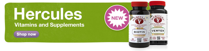 New! Hercules Vitamins & Supplements. Shop now.
