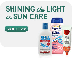 Shining the light on sun care. Learn More.