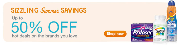 Sizzling Summer Savings. Up to 50% OFF hot deals on the brands you love. Shop now.
