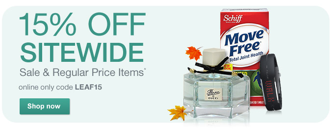 15% OFF Sitewide Sale & Regular Price Items w/code LEAF15.* Shop now.