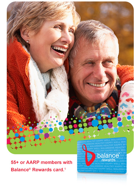 SENIORS DAY OCT. 21 ONLY. 55+ or AARP members with Balance(R) Rewards card.(1)