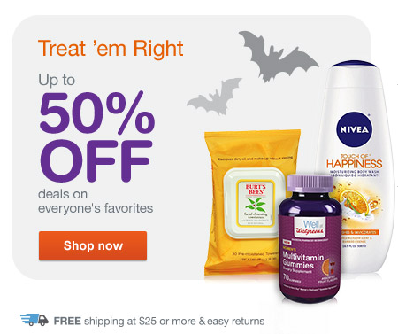 Up to 50% OFF deals on everyone's favorites. Free shipping at $25. Shop now.