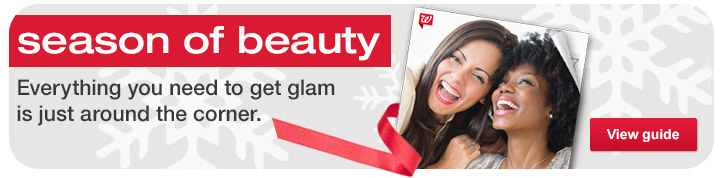 Season of Beauty. Everything you need to get glam is just around the corner. View guide.