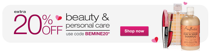 Extra 20% OFF Beauty & Personal Care use code BEMINE20.* Shop now.