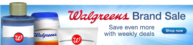Walgreens Brand Sale. Save even more with weekly deals. Shop now.