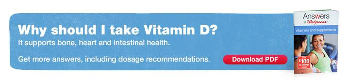 Vitamin D Answers at Walgreens