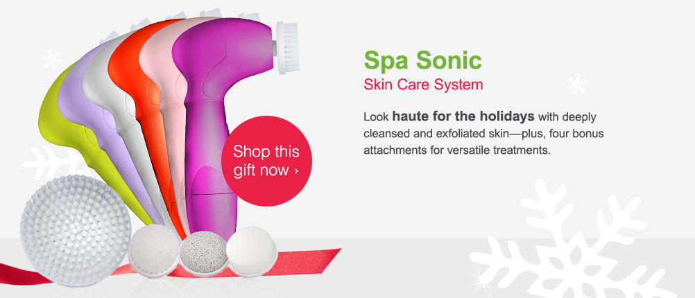 Spa Sonic Skin Care System. Shop this gift now.