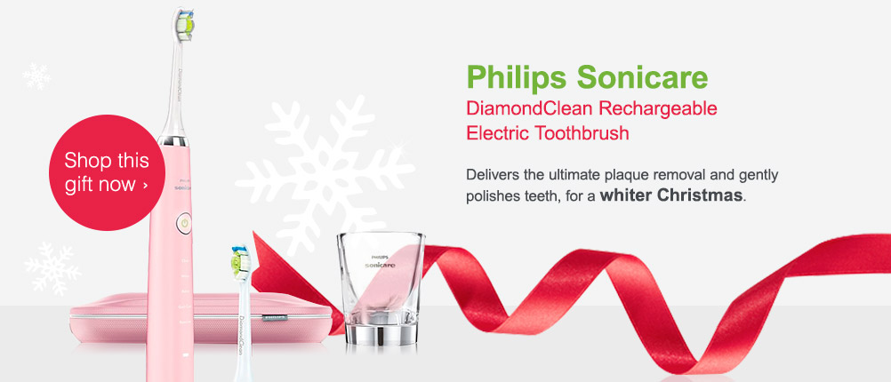 Philips Sonicare DiamondClean Electric Toothbrush. Shop this gift now.
