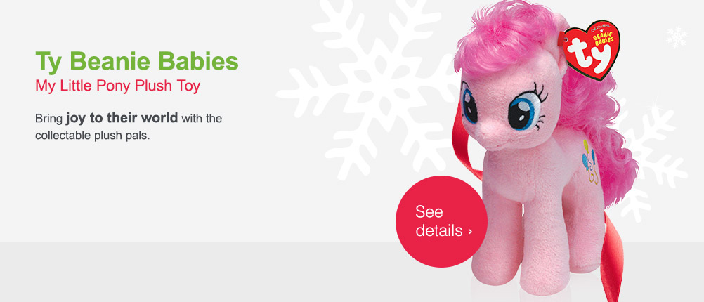 Ty Beanie Babies. My Little Pony Plush Toy. See details.
