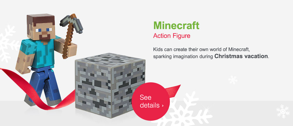 Minecraft Action Figure. See details.
