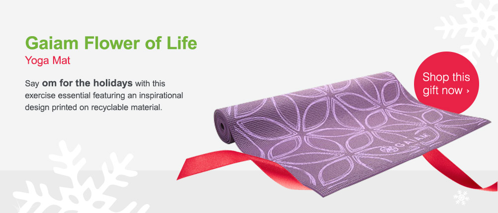 Gaiam Flower of Life Yoga Mat. Shop this gift now.