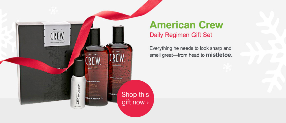 American Crew Daily Regimen Gift Set. Shop this gift now.