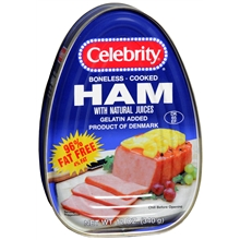 Boneless Cook Ham with Natural Juices