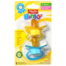 Binky Latex Pacifiers, Assorted Colors