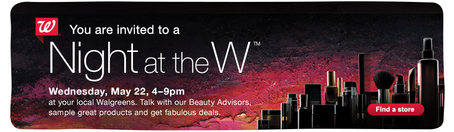 FREE Walgreens Night at the W.
